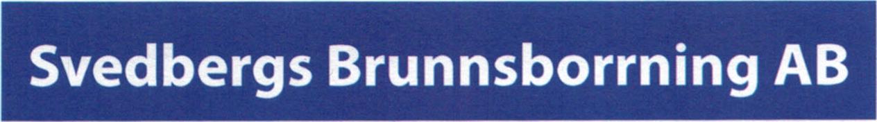 Svedbergs Brunnsborrning AB